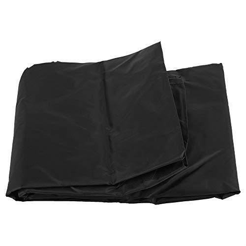 Raguso La Silla de Mesa Impermeable Resistente Cubre la Cubierta de los Muebles para los Muebles al Aire Libre(Black)