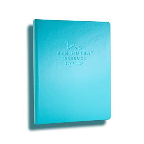Das 6-Minuten Tagebuch für Kinder   Tagebuch für Mädchen & Jungen   Für ein positives Mindset, mehr Selbstbewusstsein, Resilienz & Achtsamkeit   Das ideale Geschenk für Kinder (türkis)