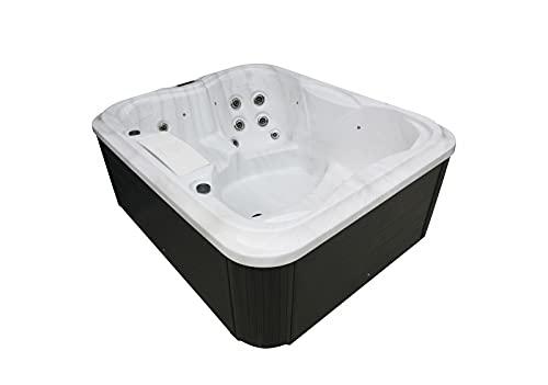 Spa Bañera de hidromasaje Jacuzzi para 4 personas Villa Felicita XXL Calefacción Ozono...