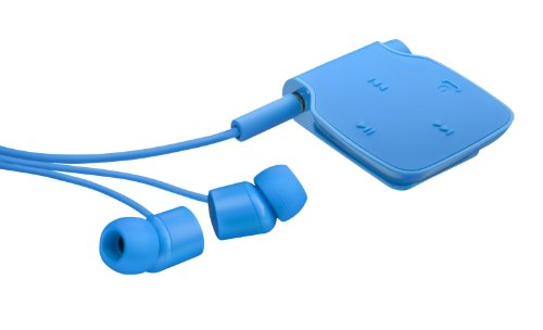 Nokia BH-111CY Bluetooth Stereo Headset Blau