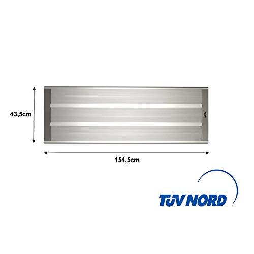 Infrarotstrahler 3000W Wärmestrahler ELektroheizung Infrarotlampe Hallenheizung