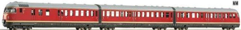 Roco H0 69132 Dieseltriebzug VT 12.5 AC Wechselstrom 3-tlg. DB
