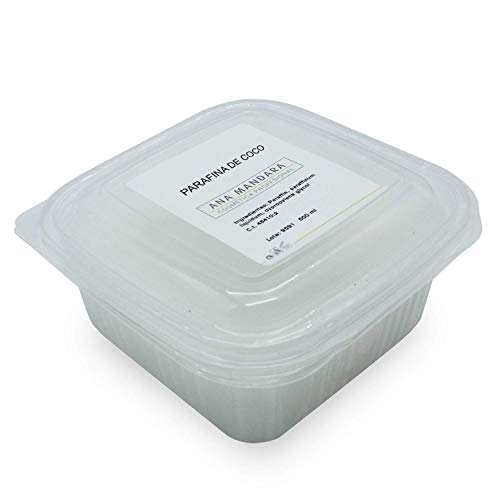 ANA MANDARA - Parafina de COCO 500 ml (350gr) || Tratamiento de...
