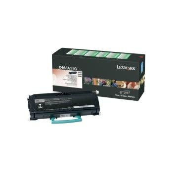 3//PK-9000 Page Yield X463H41G/_3PK SuppliesMAX Compatible Replacement for Lexmark X463//X464//X466 High Yield Toner Cartridge