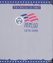 The Official U.S. Mint Morgan Dollars Coin Album: 1878-1890