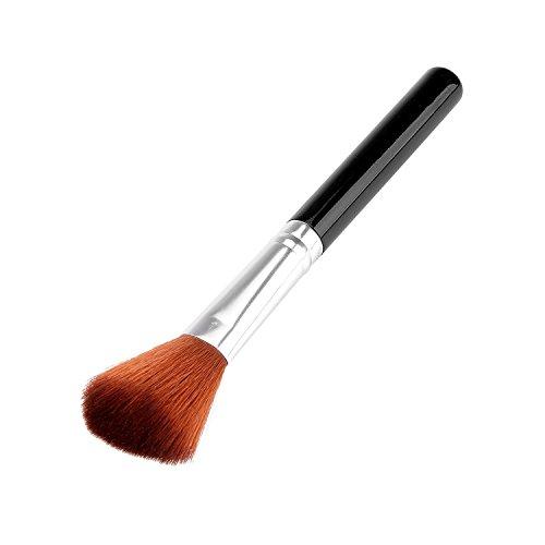 tinxi® Make up Pennello Guance viso pennello per il viso trucco pennello pennello cosmetico (nero)