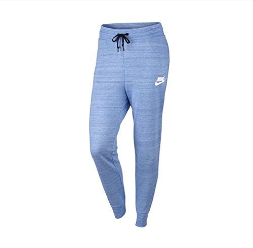 Nike Advance 15 - Pantalones de forro polar Aluminio/blanco. XS