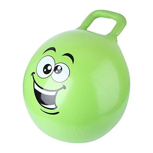 WINOMO Hopper Ball Palla Rimbalzante con Manici Bilancia Palla E Sedia a Sfera per Bambini Giocattolo Verde da Interno Ed Esterno