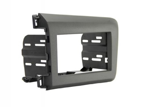 Scosche HA1713B Compatible with 2012 (Only) Honda Civic ISO Double DIN & DIN+Pocket Dash Kit Black