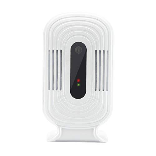 A+TTXH+L Detector de calidad WIFI Inicio smog Medidor de HCHO/TVOC / CO2 humedad relativa y temperatura de Calidad del Aire Monitor de Análisis Tester detector de gas Analizador JQ-200#aa