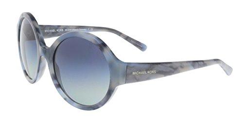 Michael Kors 0MK2035 Gafas de sol, Cadet Blue Marble, 55 Unisex-Adulto