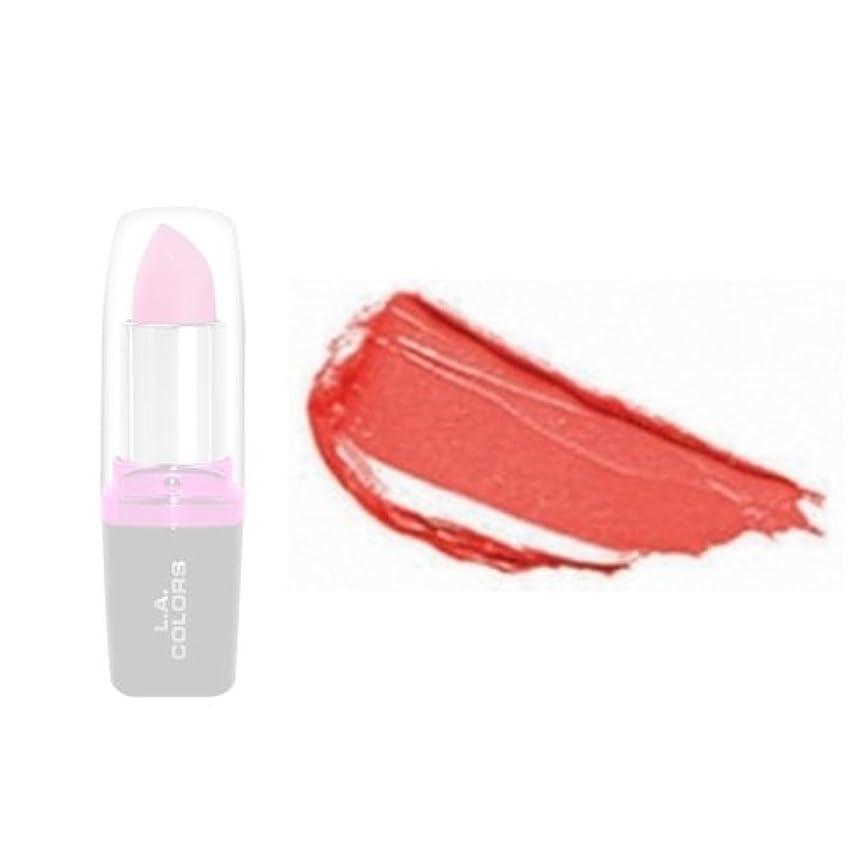 結婚した枠メトリックLA Colors Hydrating Lipstick - Coral Sheen (並行輸入品)