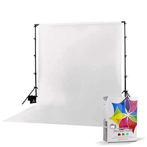 Fundo Infinito Fotográfico Branco 3x6m