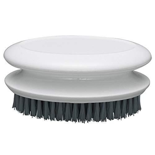 Camisin Cepillo de Fregar Cepillo para Fregar Ropa para el Hogar para Ropa Zapatos Zapatillas PortáTil PláStico Suave Limpieza Lavado (Blanco)