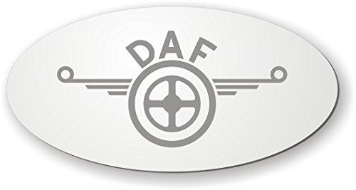 DAF Spiegel mit Logo für die Rückwand ✓ DAF Aufkleber ✓ LKW-Zubehör und Artikel für Innenausstattung ✓ Rückwandspiegel ✓ Truck accessoires für die Fahrerkabine ✓