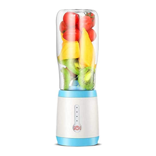 I wish to fly freely Juicer, Personal Mini Blender Smoothie Machine Smoothie Single Service Blender Portable Juicer Cup Electric Blender(Color:A(Pack of two)