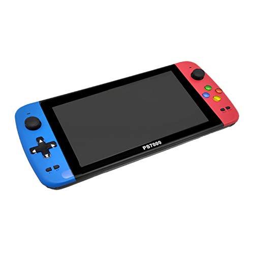 Consola De Juegos Portátil, Consola De Videojuegos Portátil, Pantalla HD De 7 '', 3000 Juegos Clásicos Incorporados, Juegos De 128 bits Arcade, Salida HDMI Compatible