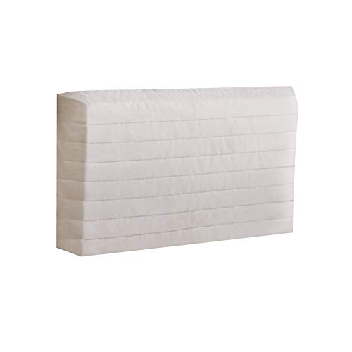 Indoor Quilted Window Air Conditioner Cover - Maintains Heat and Keeps Cold Air Out While Eliminating Dust Buildup, Large