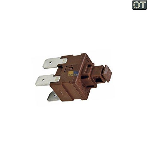 Küppersbusch 436828 ORIGINAL Tastenschalter Drucktastenschalter Geschirrspülertastenschalter An/Aus-Schalter Ein/Ausschalte Netzschalter Hauptschalter Schalter 1fach Schalter Spülmaschine
