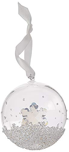 SWAROVSKI Christmas Ball Ornament 2019 Holiday Décor, Clear