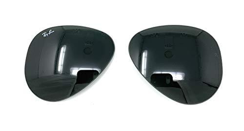 Ray Ban RB3025 3025/3026 RayBan - Gafas de sol de repuesto, Verde (G-15 Green-Gray), Lens-62