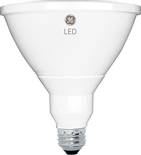 GE Lighting 13191 LED PAR38 Outdoor Light Bulb with Medium Base, 7-Watt, Bright, 1-Pack, Soft White