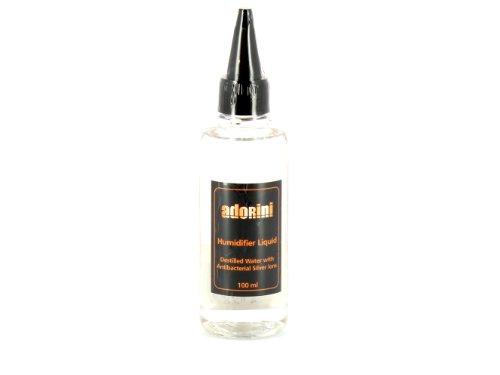 ADORINI líquido humidificador - Humidor Líquido humidificador con iones de plata 100 ml