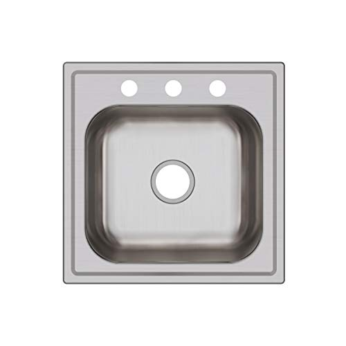 Elkay DPC12020103 Dayton Single Bowl Drop-in Stainless Steel Laundry Sink