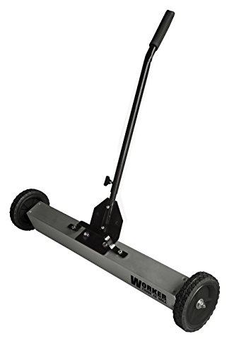 WORKER 53496 Magnetic Sweeper, 30'