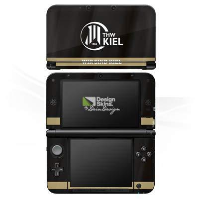 DeinDesign Skin kompatibel mit Nintendo 3 DS XL Aufkleber Sticker Folie THW Kiel Fanartikel Handball