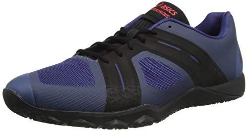 ASICS Men Conviction X2 Fitness Shoe Running Shoes Light Blue - Black 9,5