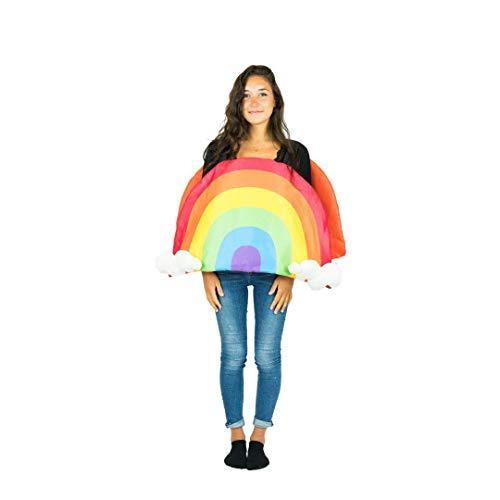 Bodysocks® Disfraz de Arco Iris Adulto