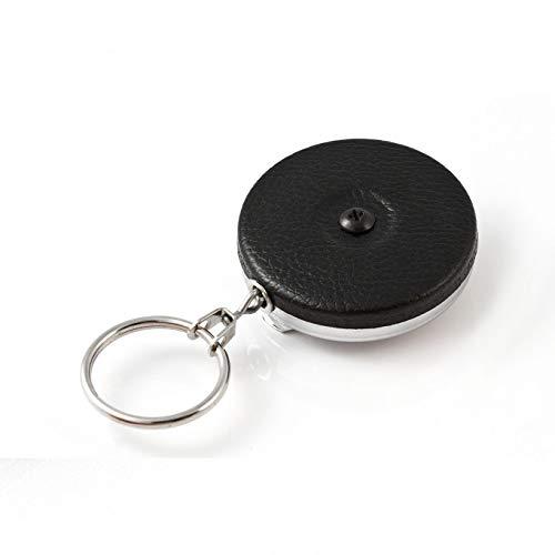 KEY-BAK Original Steel Cable Retractable Keychain, 48