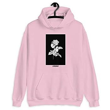 Best pink rose hoodie Reviews