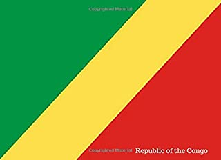 Republic Of The Congo: Patriotic Country National Flag Gift Journal Notebook