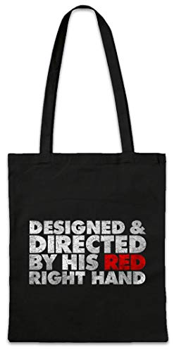 Urban Backwoods Designed & Directed By His Red Right Hand Boodschappentas Schoudertas Shopping Bag