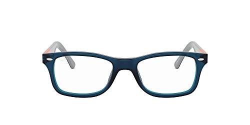 Ray-Ban 5228, Montature Donna, Blu (Blue/Dark Grey), 53