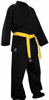 Y-DOUBLE Y - Kimono de Karate, Color Negro