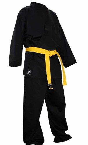 DOUBLE Y - Kimono de karate, color negro negro negro Talla:190