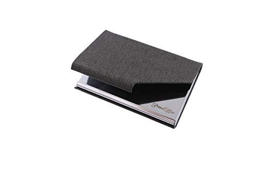 [PrimalBlue]名刺入れ 名刺ケース ビジネス メンズ レディース 兼用 ステンレス カードファイル 名刺が折れない プレゼント (ブラウン)