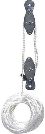 GRIP (GRAND RAPIDS INDUSTRIAL) 18090 Grip 2000 lb Rope Pulley Hoist