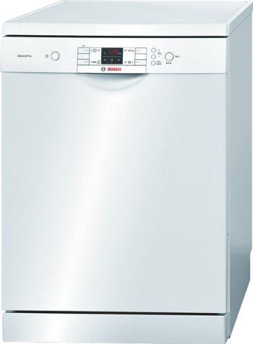Bosch SMS40M52EU Freistehender Geschirrspüler / A+ AA / 12 L / 1.02 kWh / 60 cm / Weiß / VarioSpeed / Startzeitvorwahl / ActiveWater