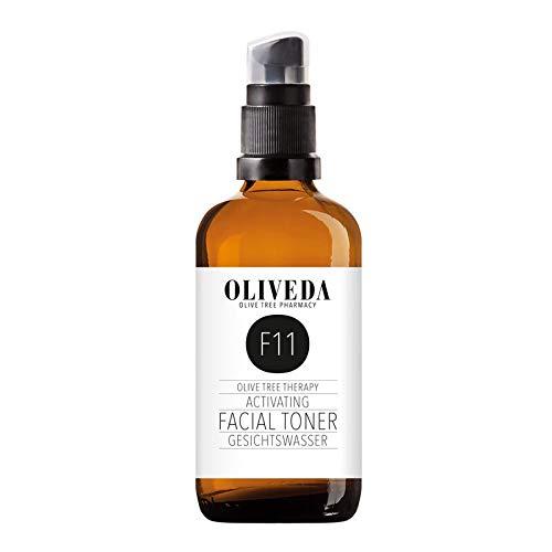 Oliveda F11 - Gesichtswasser Activating | klärendes & feuchtigkeitsspendendes Reinigungswasser mit Hydroxytyrosol & Oleuropein - 100 ml