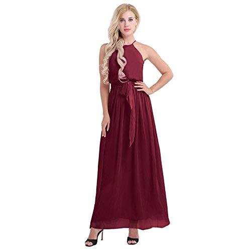 LIFU Vestido de Boda Vestidos Casuales para Mujer Vestido de Dama de...
