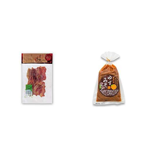 [2点セット] 薫製達人 豚バラベーコン燻製(60g)[飛騨山椒付き]・ゆずみそ(130g)