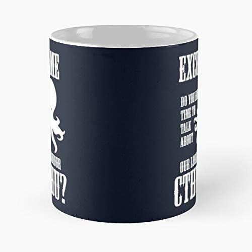 and Mormons Cthulhu Tentacles Mormon Saviour Octopus Religion Tentacle Lord Best 11 Ounce Ceramic Coffee Mug Best 11 oz Kaffeebecher - Nespresso Tassen Kaffee Motive !