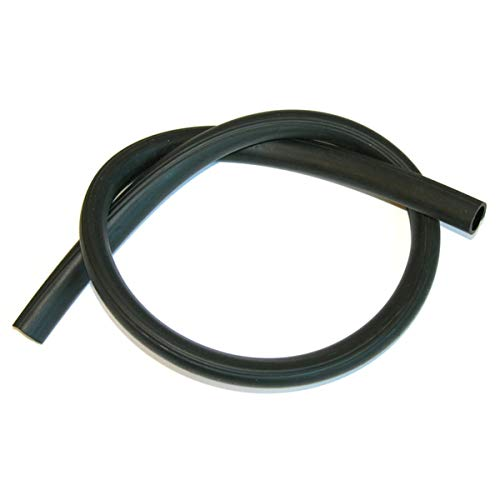 Inline Tube (I-7-12) Radiator Overflow Hose Factory Correct Ribs Compatible with 1964-79 GM