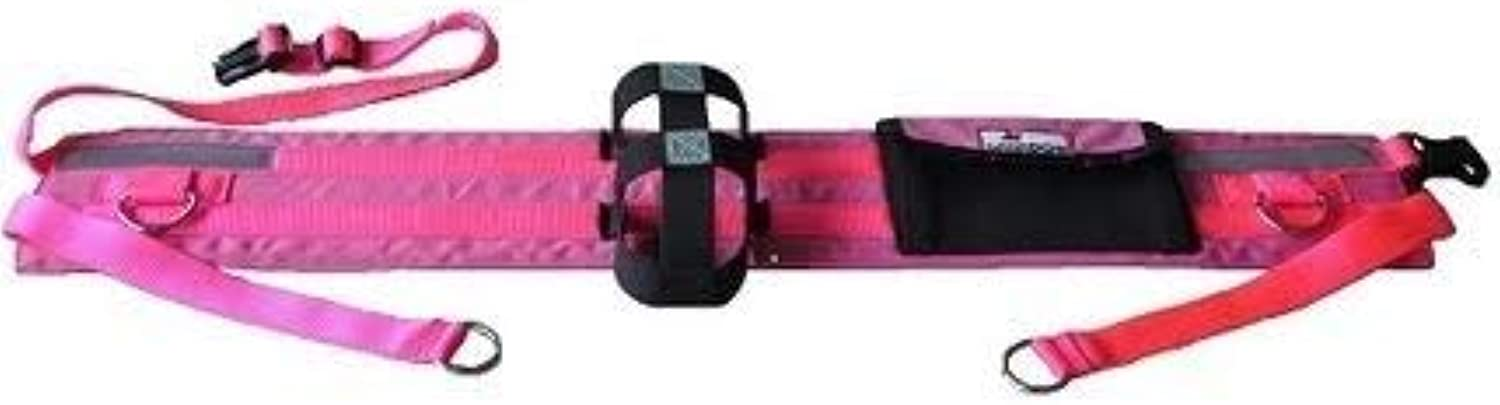 CanaDog Pink Canicross HandsFree Dog Walking Belt