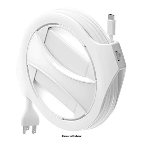 Fuse Reel The Side Winder USB-C Original MacBook Charger Organizer and Travel Accessory Compatible with MacBook Pro Adapters