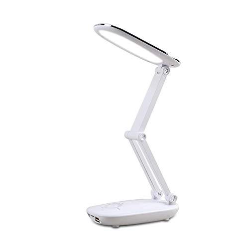 WEM LED Lámparas de escritorio plegables USB para estudiar niños, [portátil] Iluminación...